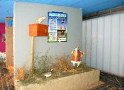 Instalación en el Centro de Villalar de los Comuneros